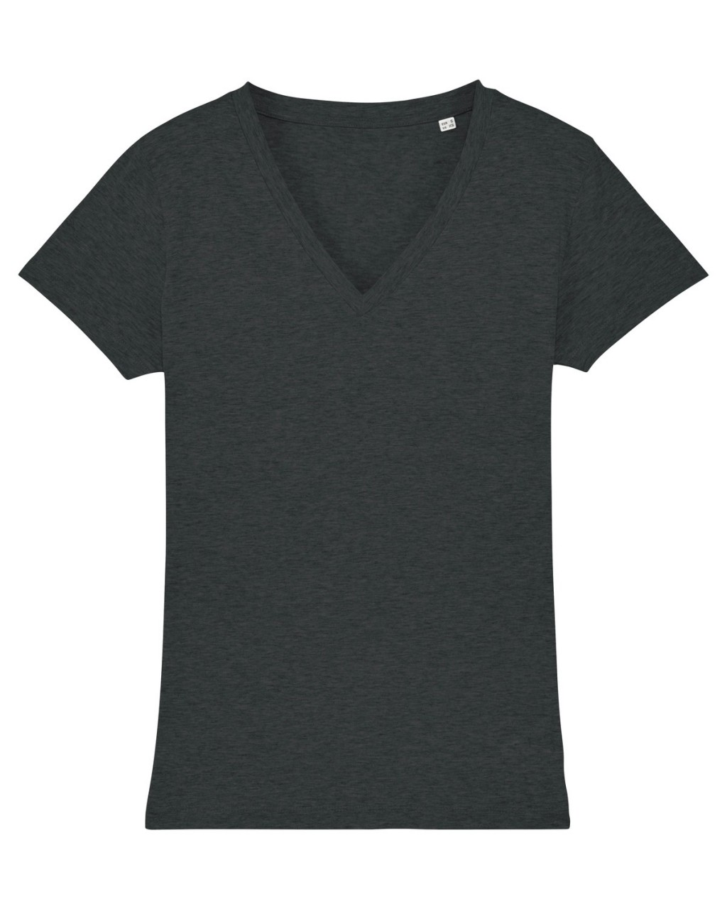 WS Regular Fit V-Neck T-Shirt dark heather grey