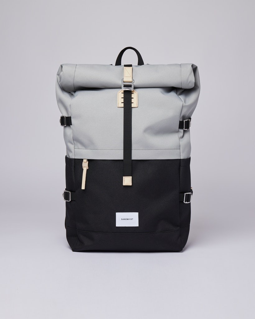 BERNT Multi Grey/Black with Natural Leather