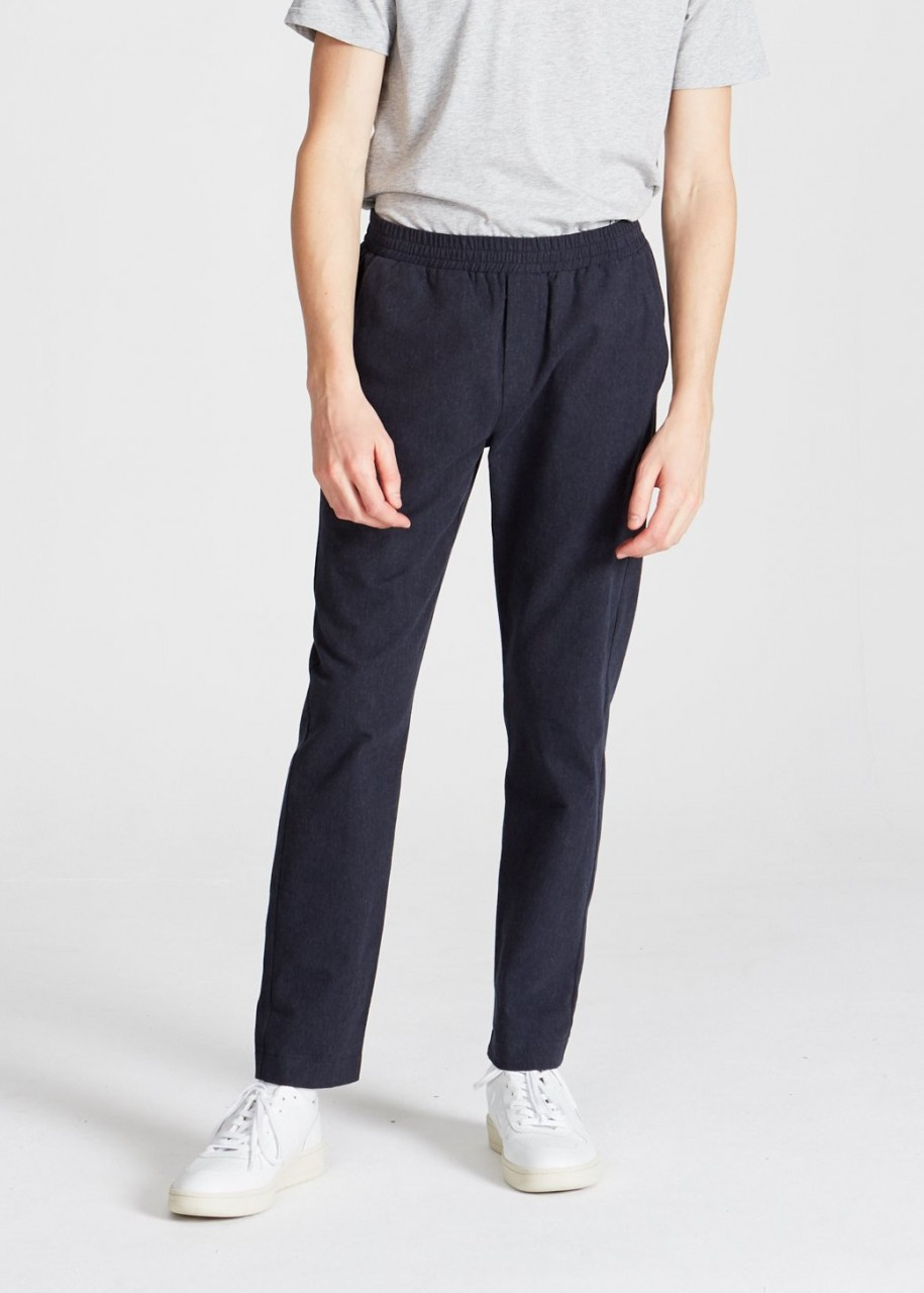 Eric Trousers Midnight Blue