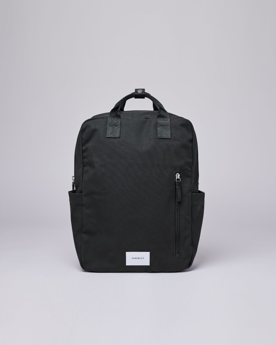 KNUT Black with Black webbing