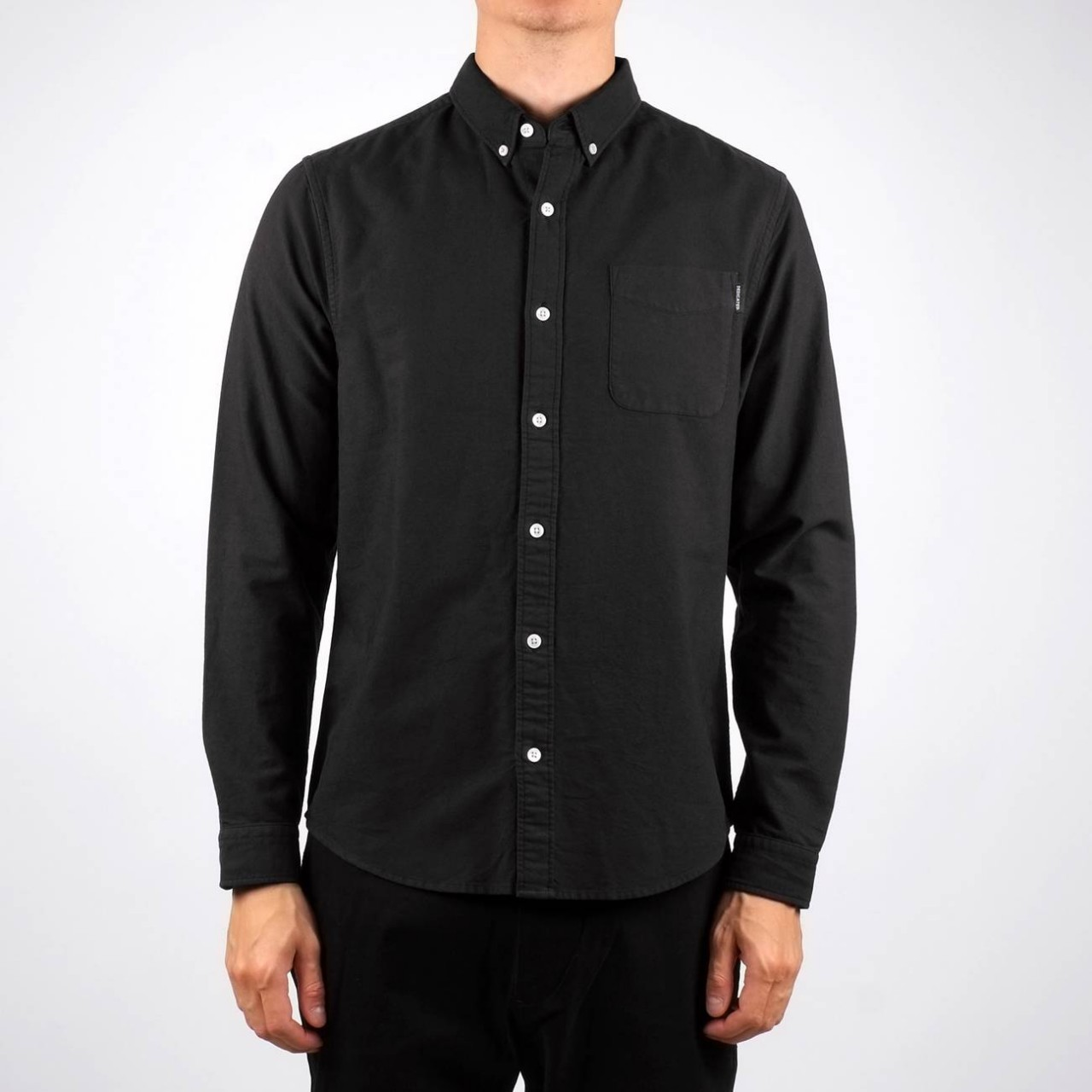 Shirt Varberg Oxford Black
