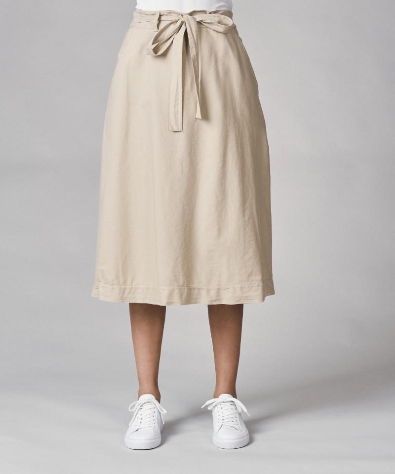 Flora organic cotton skirt Sand