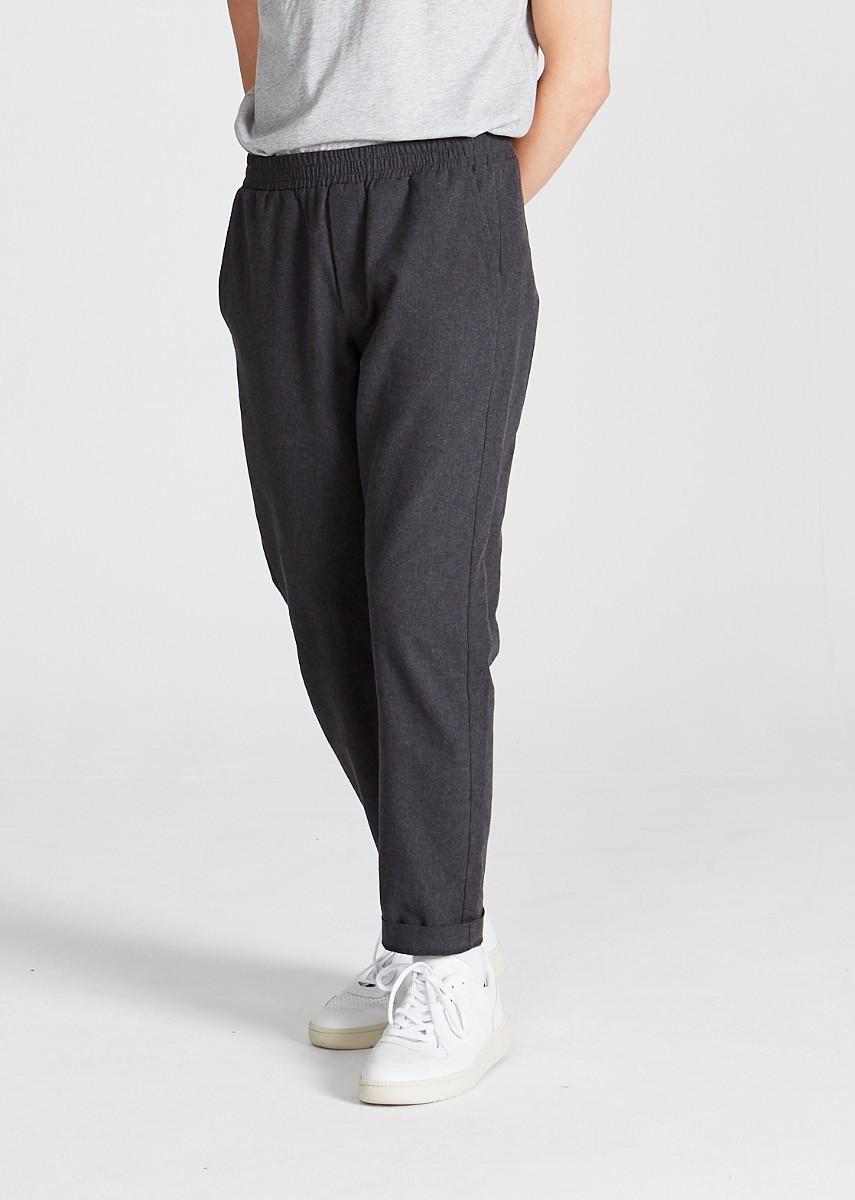 Eric Trousers Dark Grey