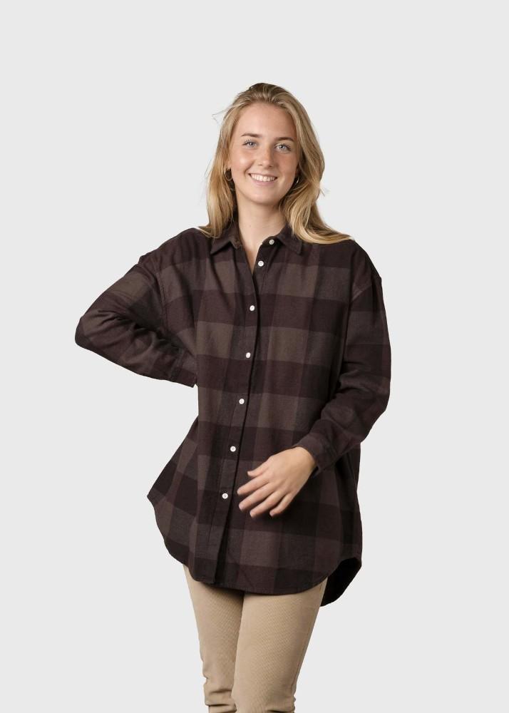 Ofelia shirt Earth/black