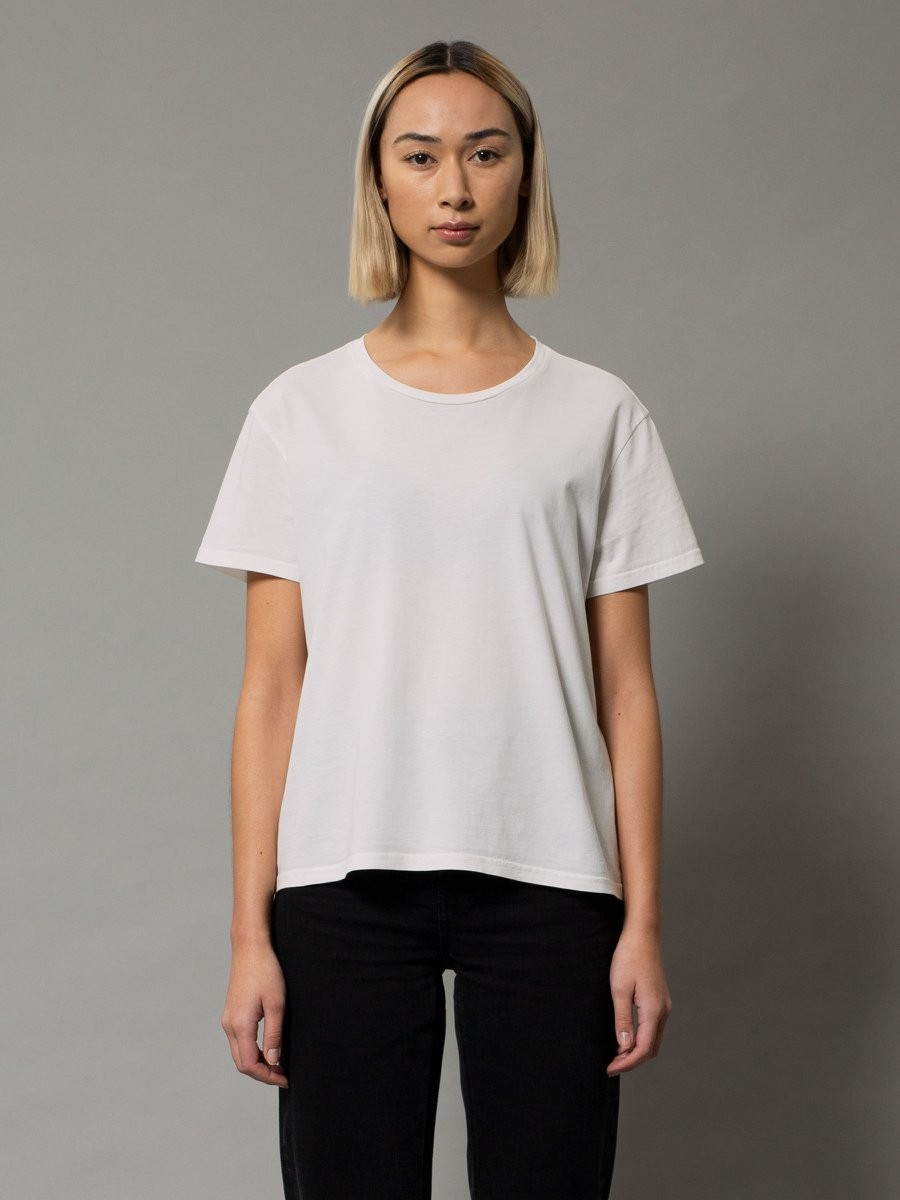 Lisa Cropped Tee Offwhite