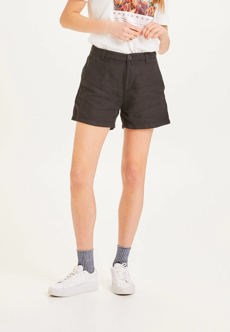 SENNA loose shorts - Vegan Black Jet