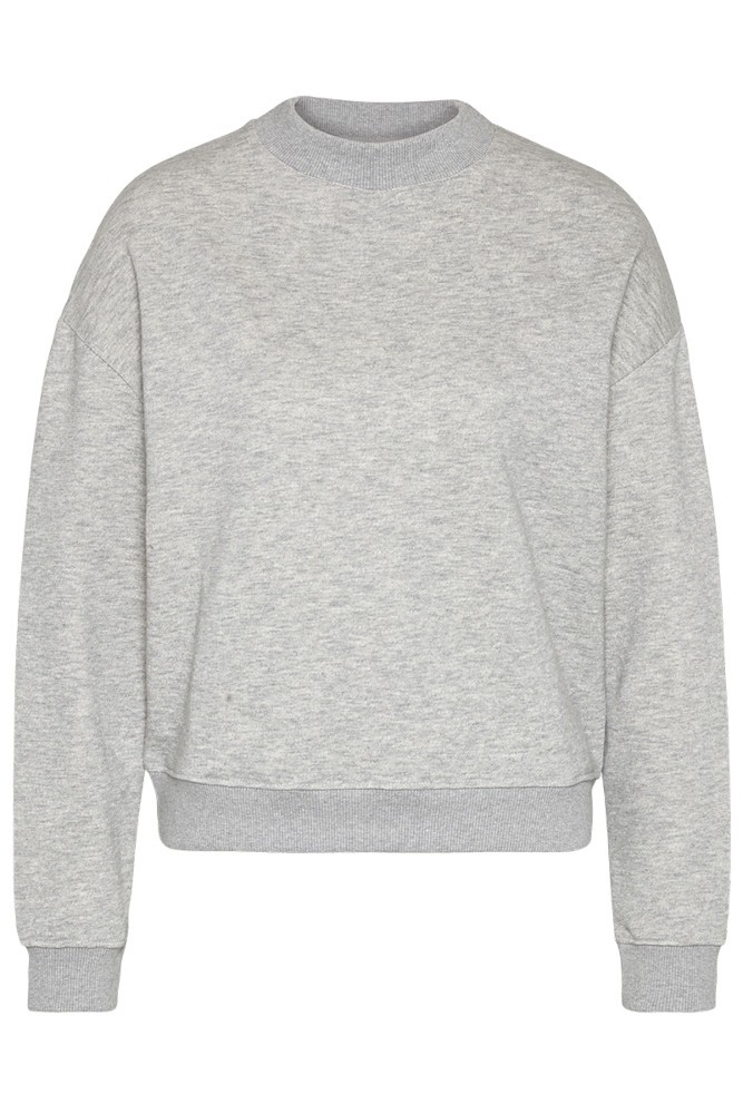Sweat Oversize Crewneck silver grey