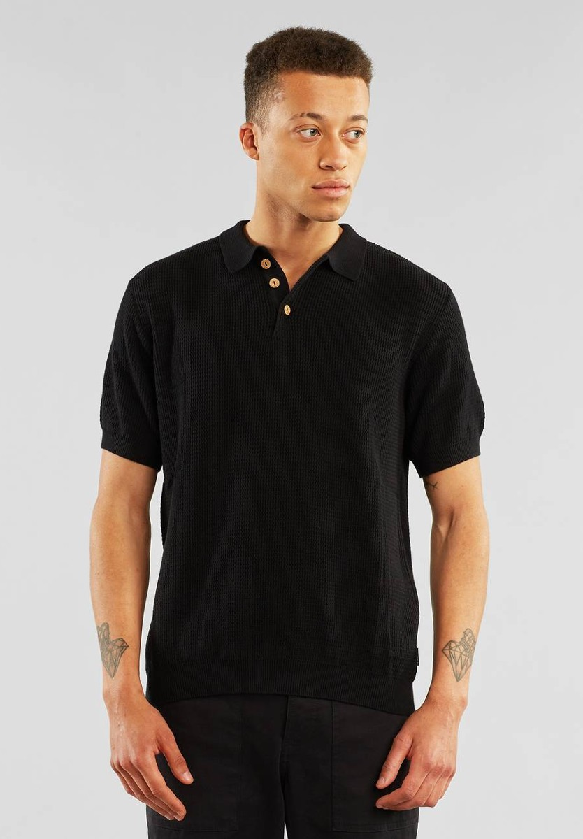 Sweater Short Sleeve Gnesta Black