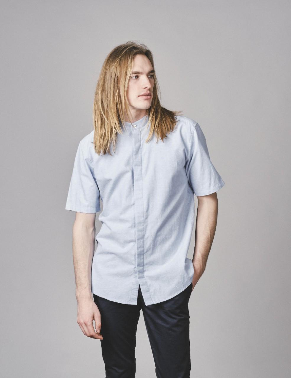 Max shirt Blue melange