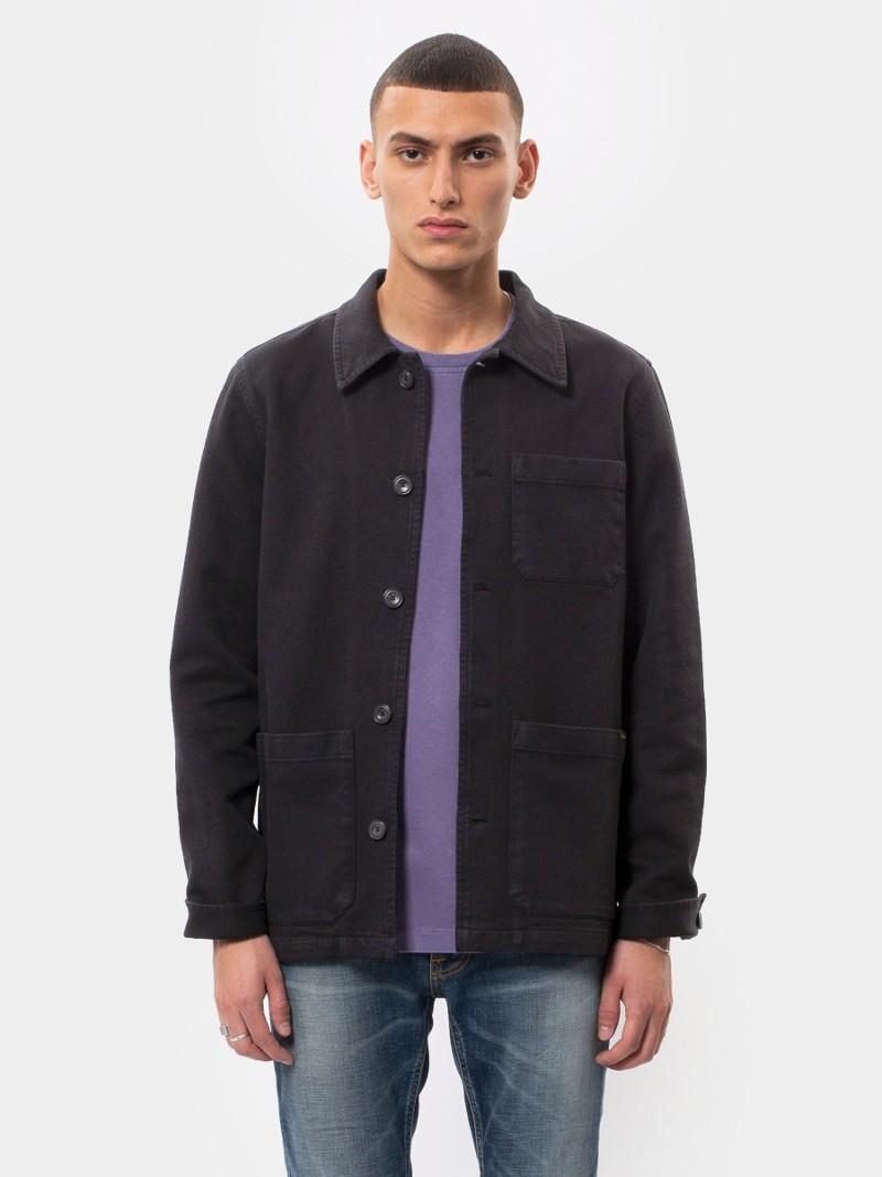 Barney Worker Jacket Black