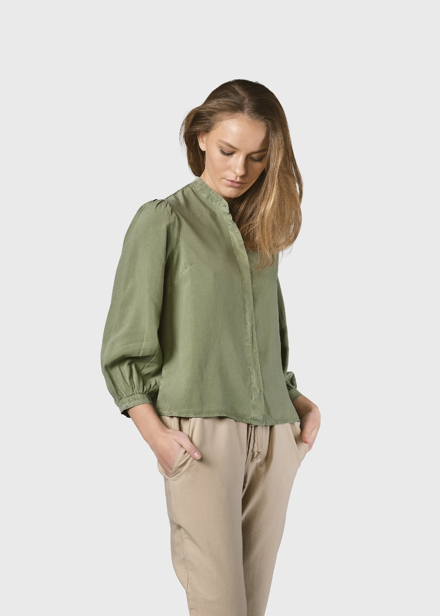 Malou shirt Pale green