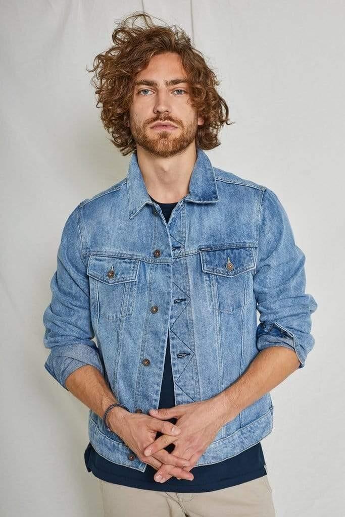 Bourne Jacket Vintage Blue