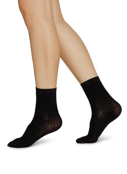 Stella Shimmery Socks black