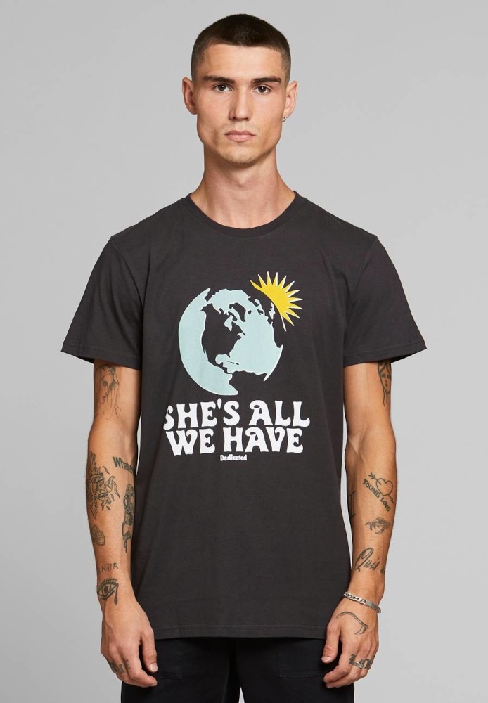 T-shirt Stockholm All We Have Charcoal