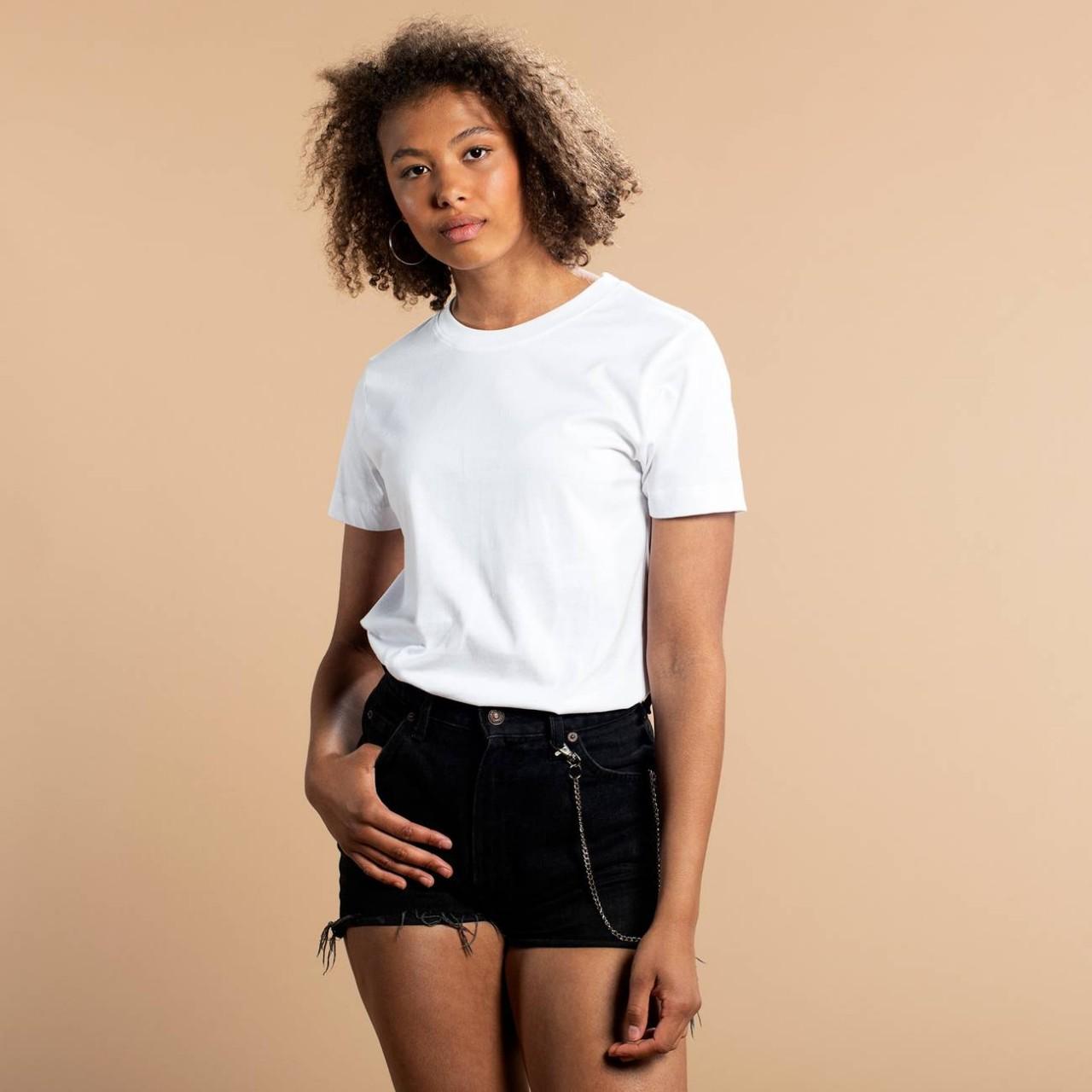 T-shirt Mysen Base White
