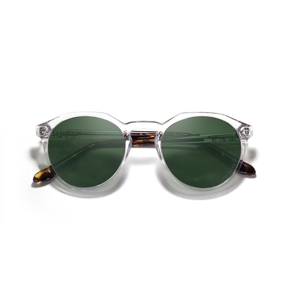 LEON Crystal/Tortoise Green