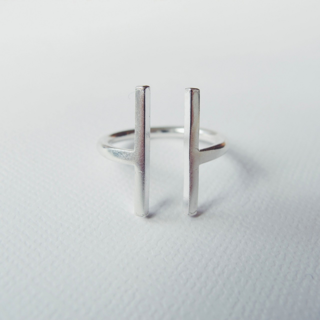 GAP RING Recycled Sterling Silver