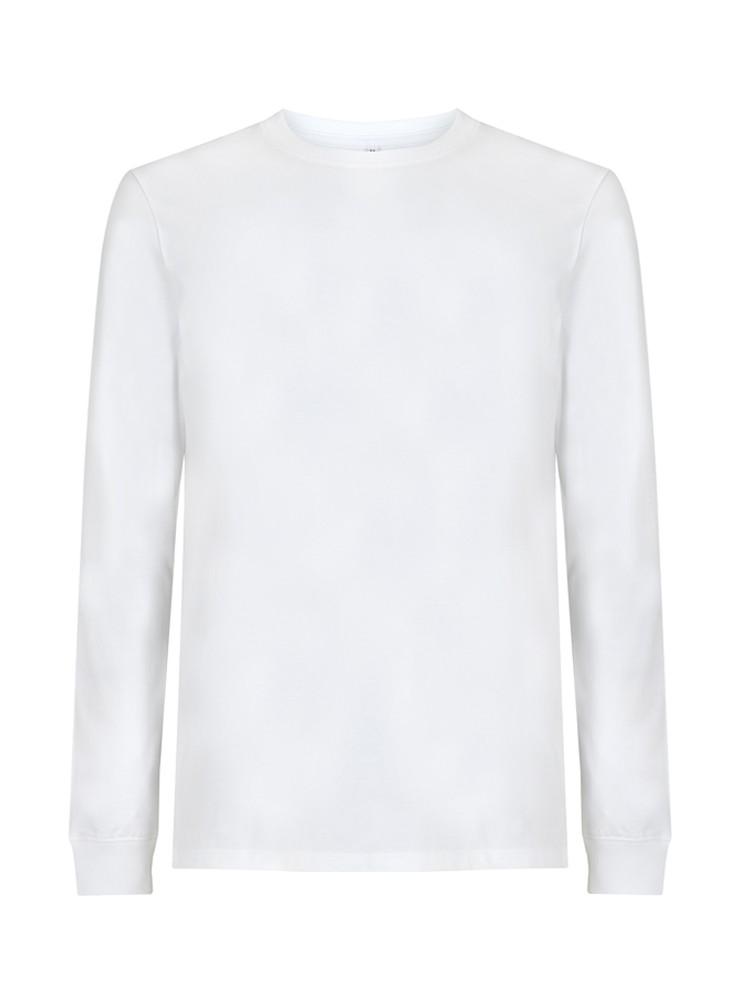 Unisex Heavy Longsleeve white