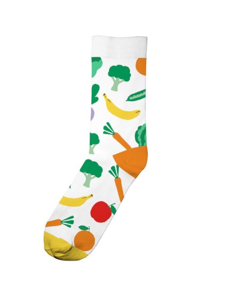 Socks Sigtuna Vegetables White