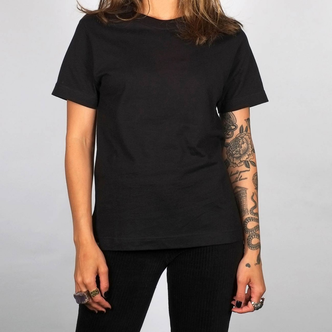 T-shirt Mysen Base Black