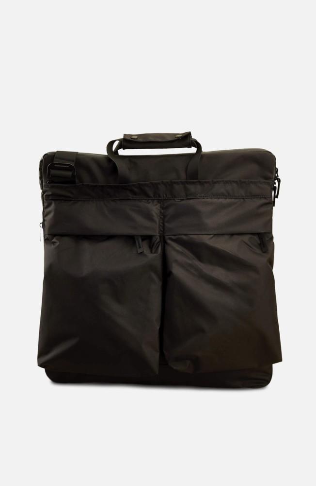 Tote Bag black/oliv
