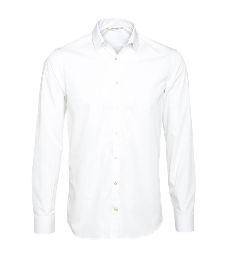 Metro shirt slim male white