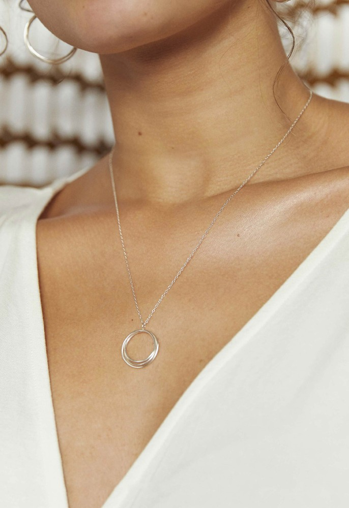 Wrapped Circled Necklace
