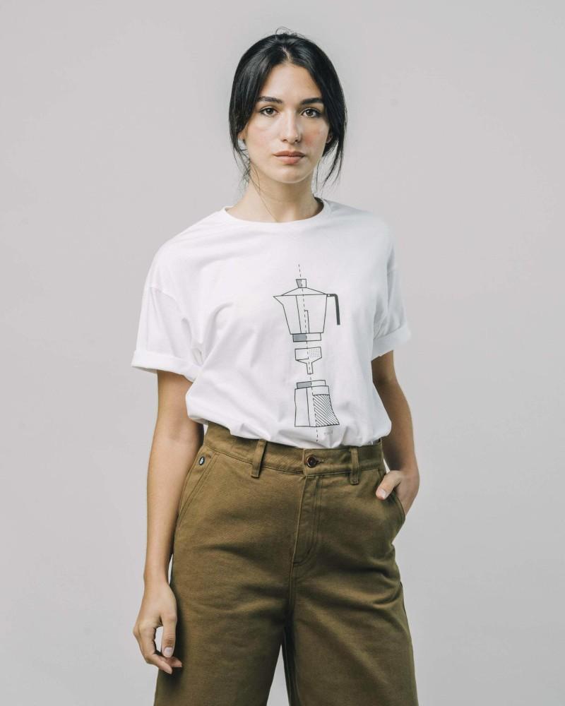 T-Shirt How To Moka white