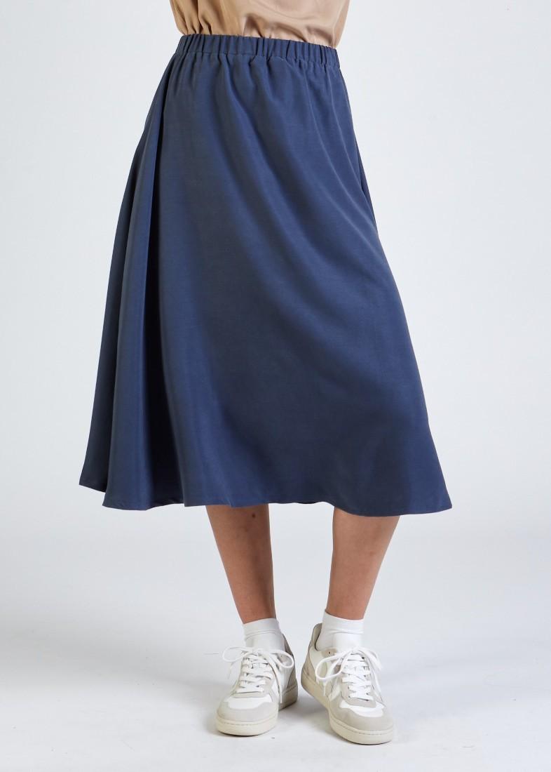 Vana Skirt Navy Blue
