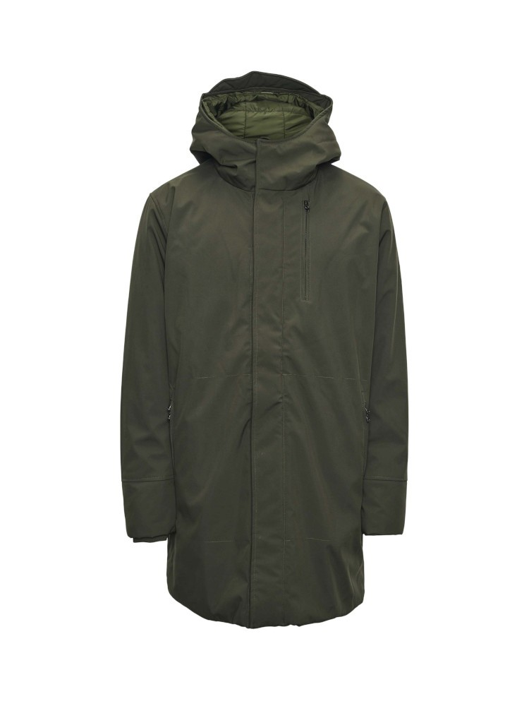 Climate shell jacket Forrest Night