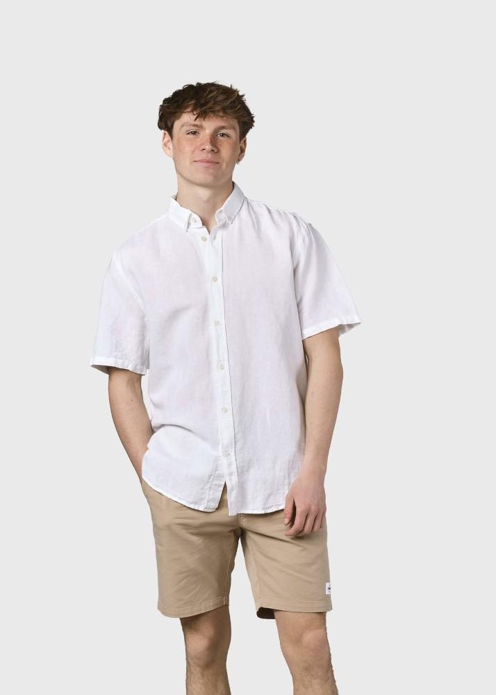 Mikkel linen shirt White