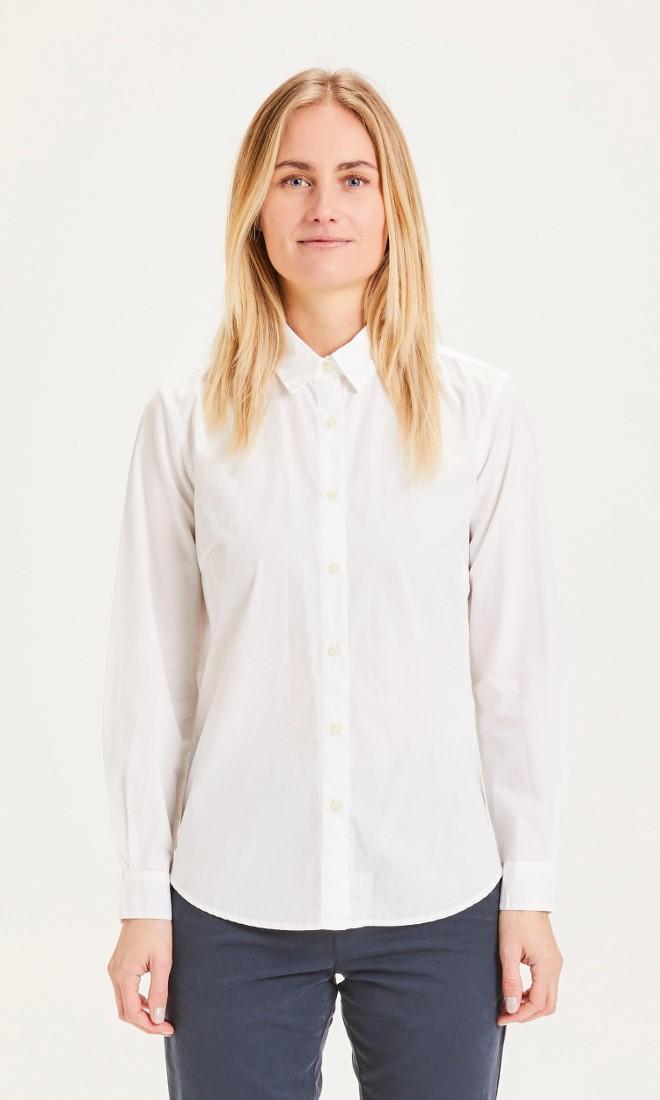 DANICA classic slim-fit shirt Bright White