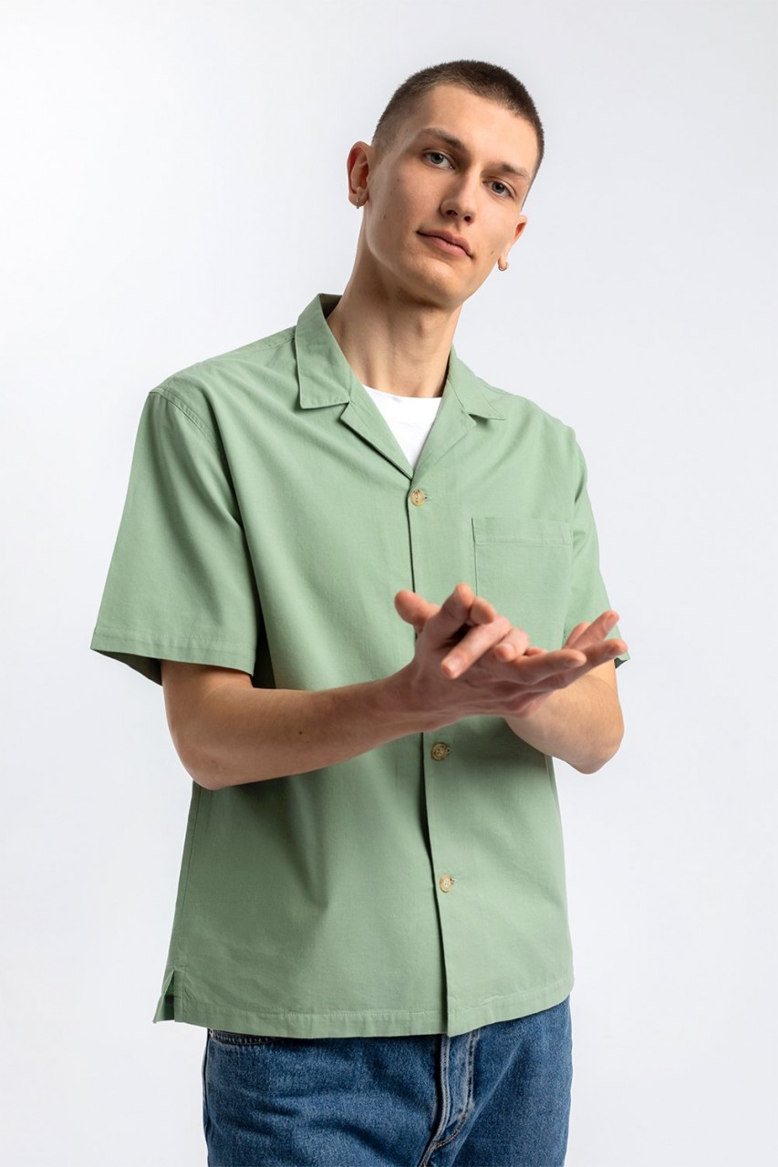 Bowling Shirt Soft Green