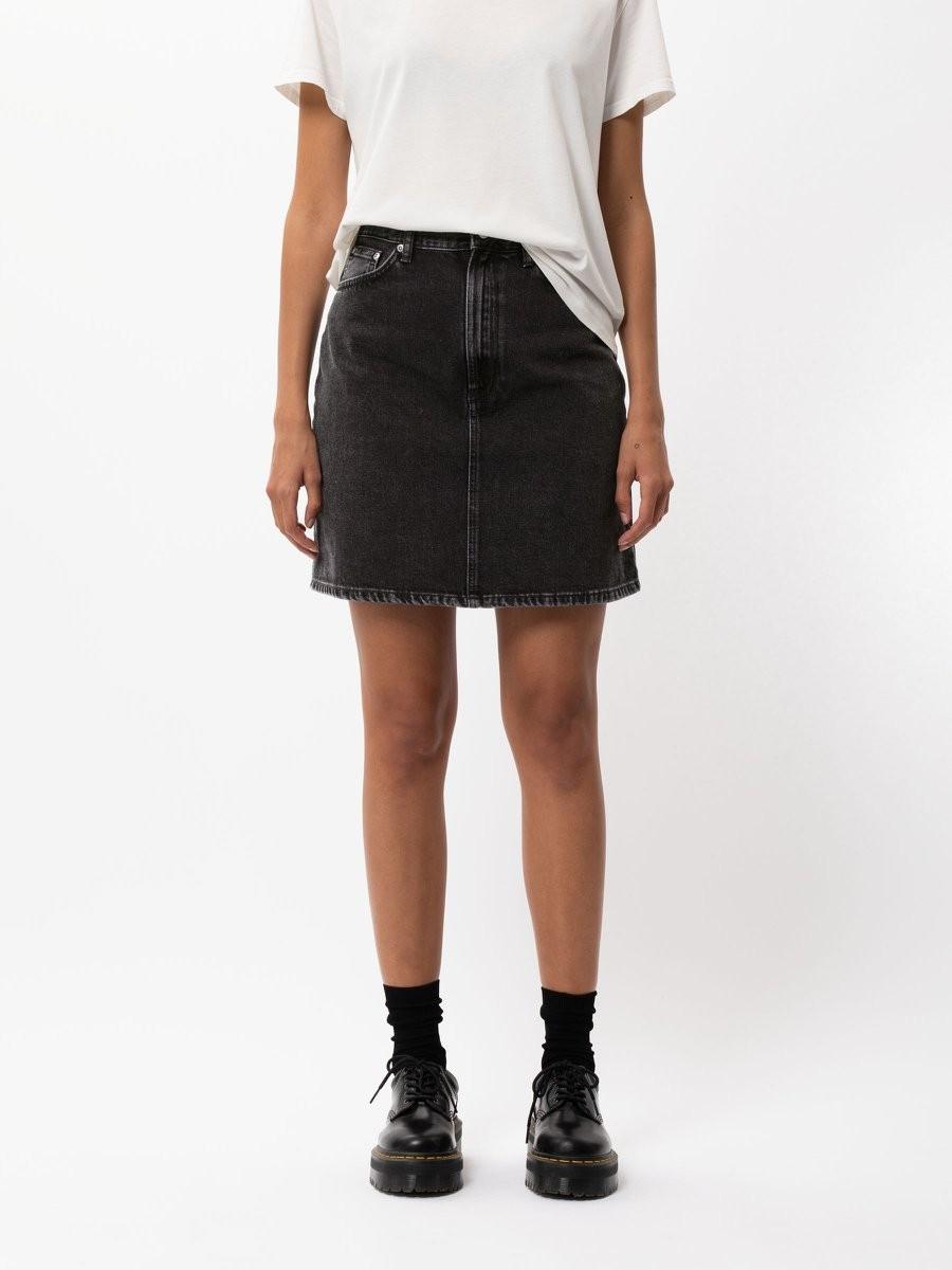 Hanna Skirt Black Trace