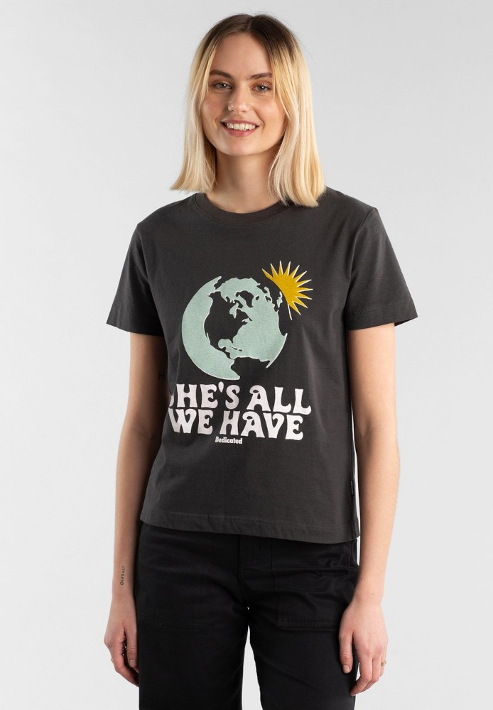 T-shirt Mysen All We Have Charcoal