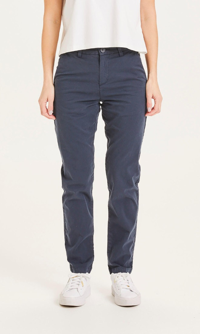 WILLOW slim chino Total Eclipse