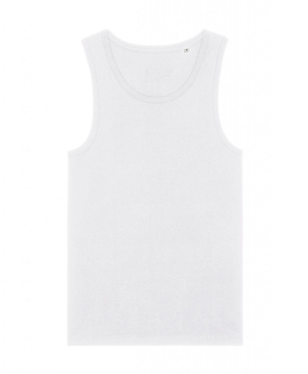 MS Regular Fit Tank Top white