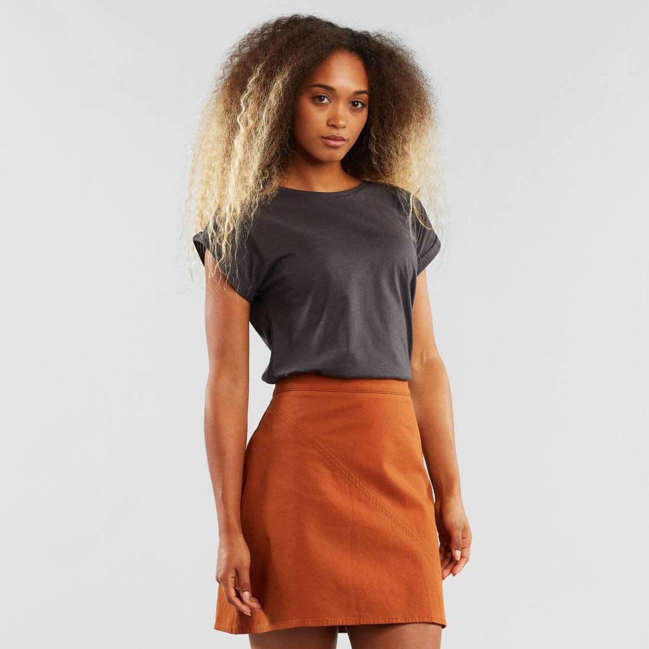 Skirt Nossebro Mocha Brown