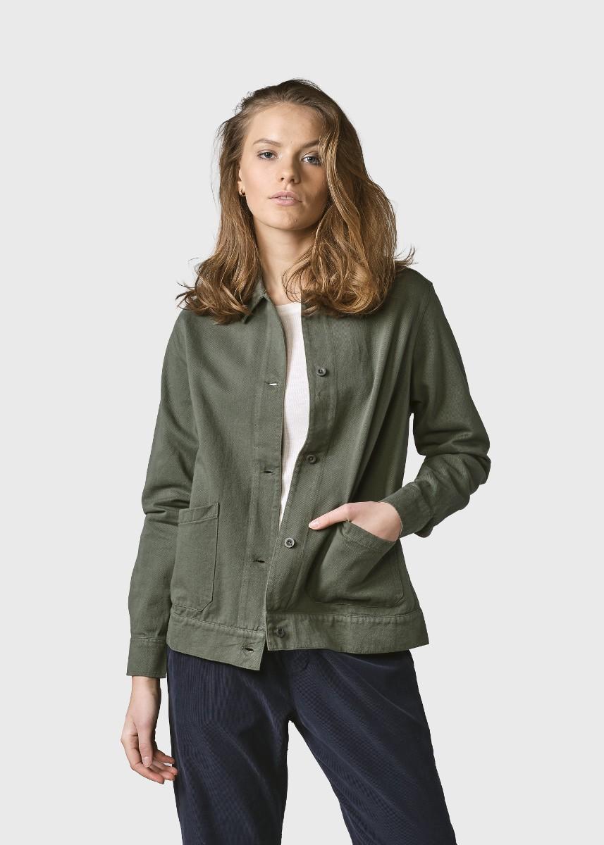 Rita twill jacket Olive