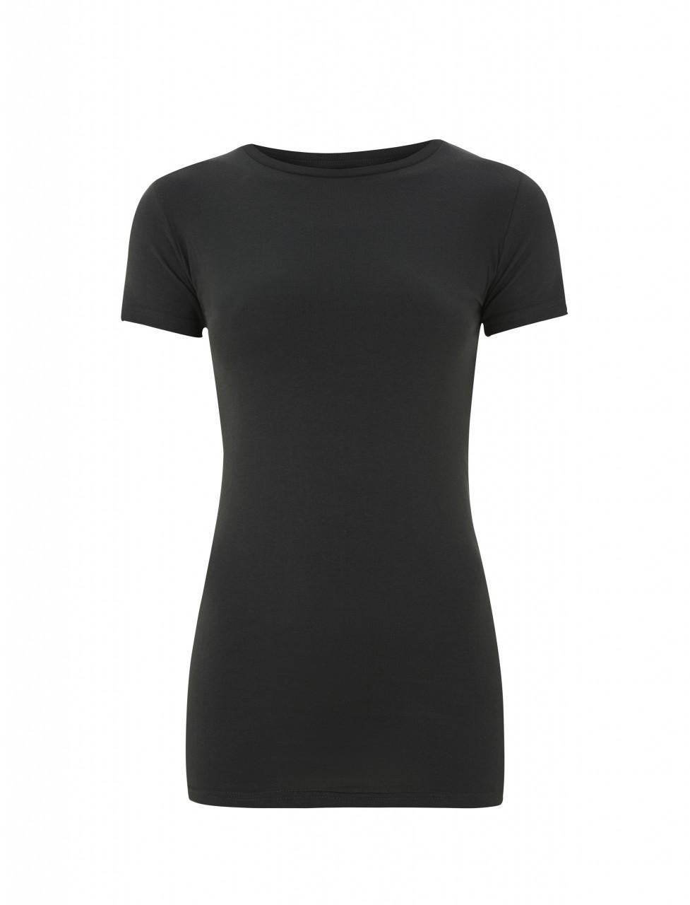 Womens Slim T-Shirt Dark Grey