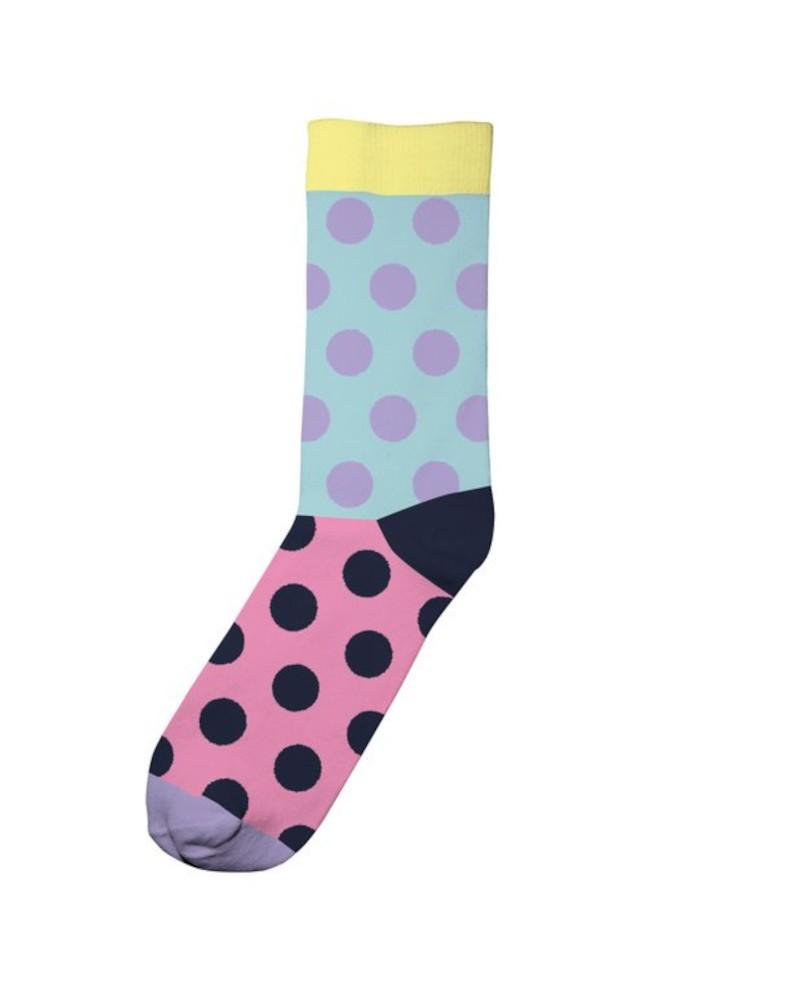 Socks Sigtuna Split Mint Pink