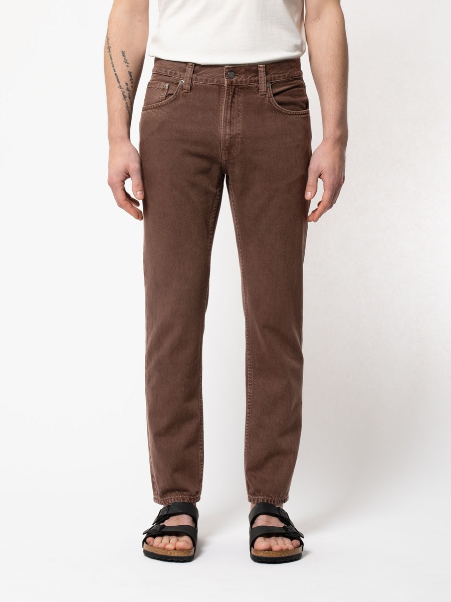 Gritty Jackson Washed Brown