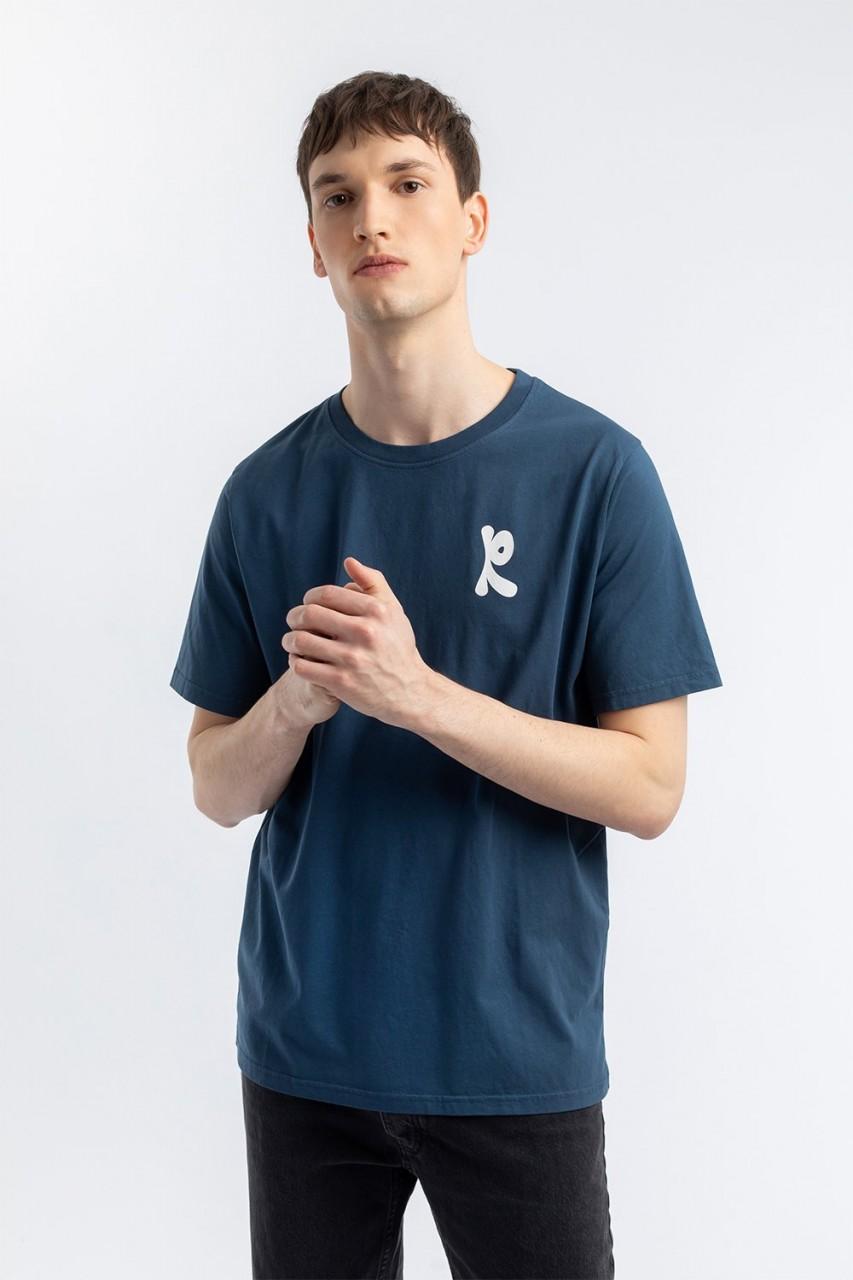 Wavey T-Shirt navy