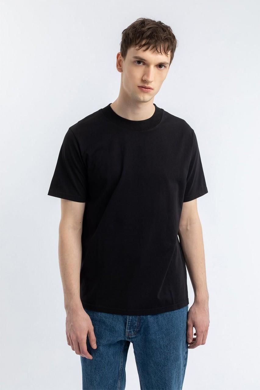 Big Collar T-Shirt Black
