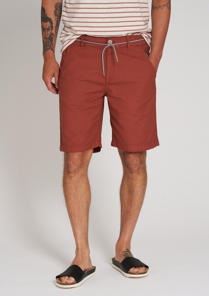 Canvas Shorts dark summer orange