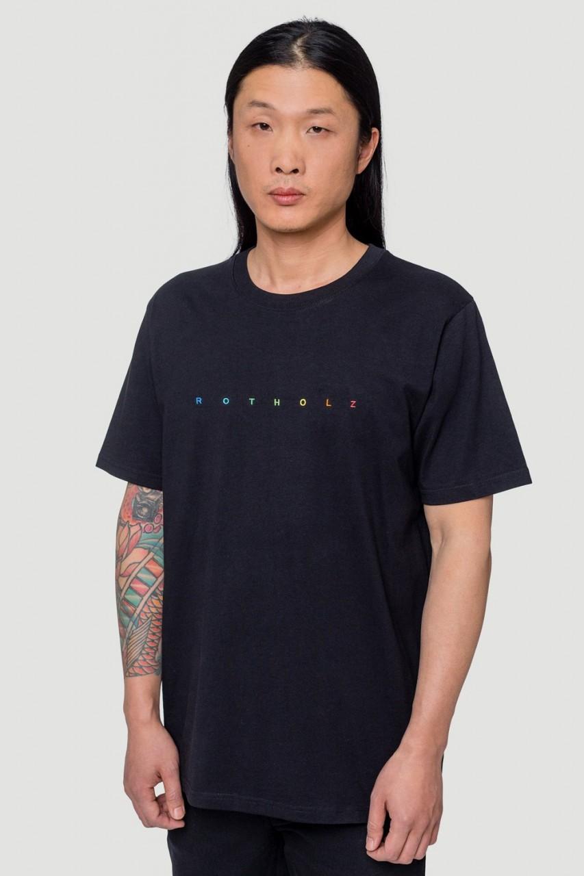 SPACING T-Shirt Black/Colored