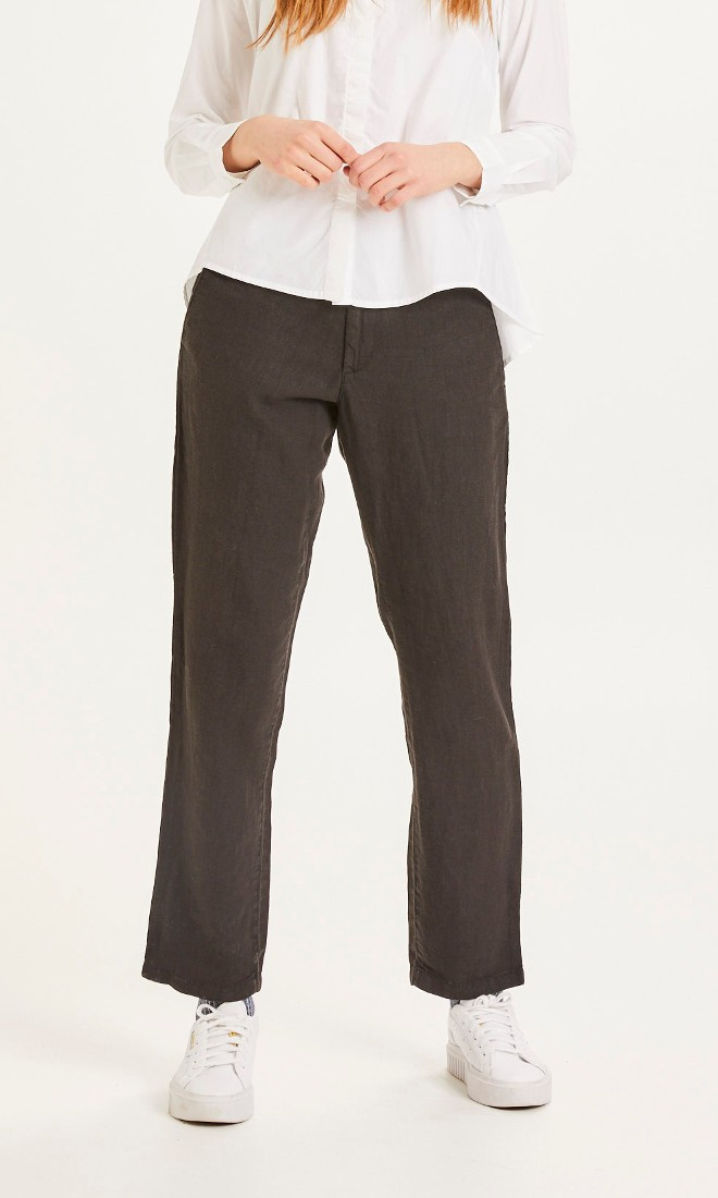 SENNA loose pants Black Jet