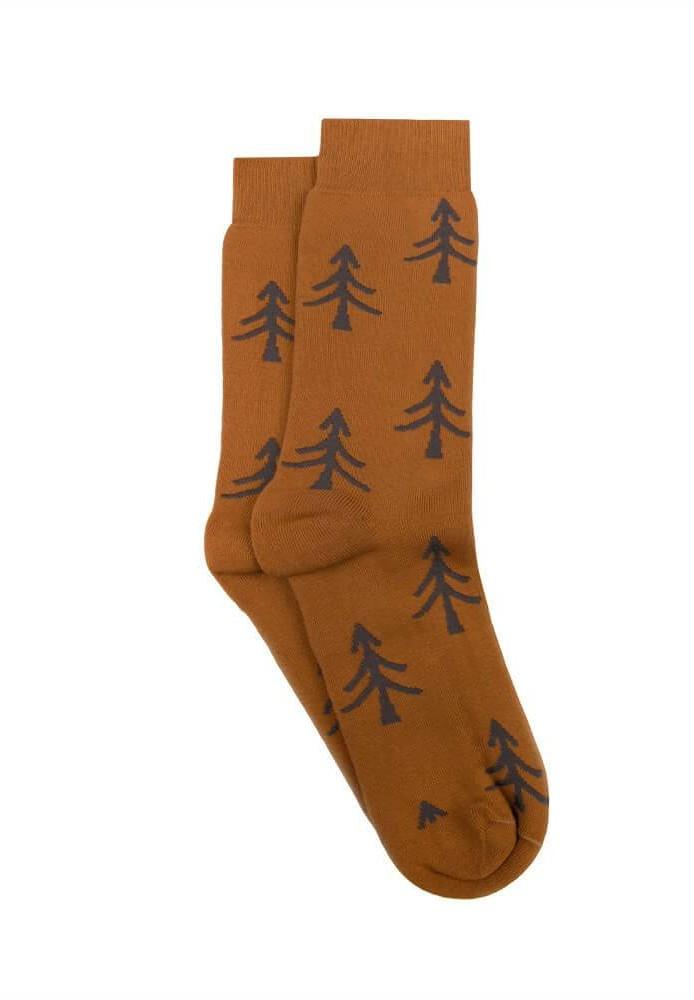 Polar Tree Socks Ochre