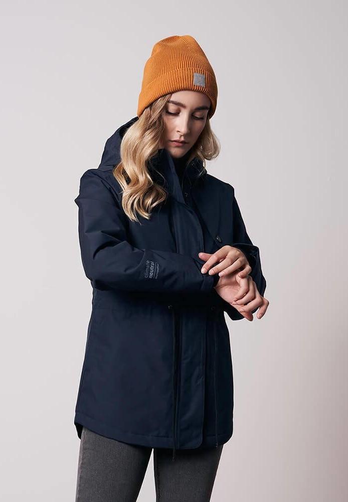 SYMPATEX® Active Short Coat Ladies Blue