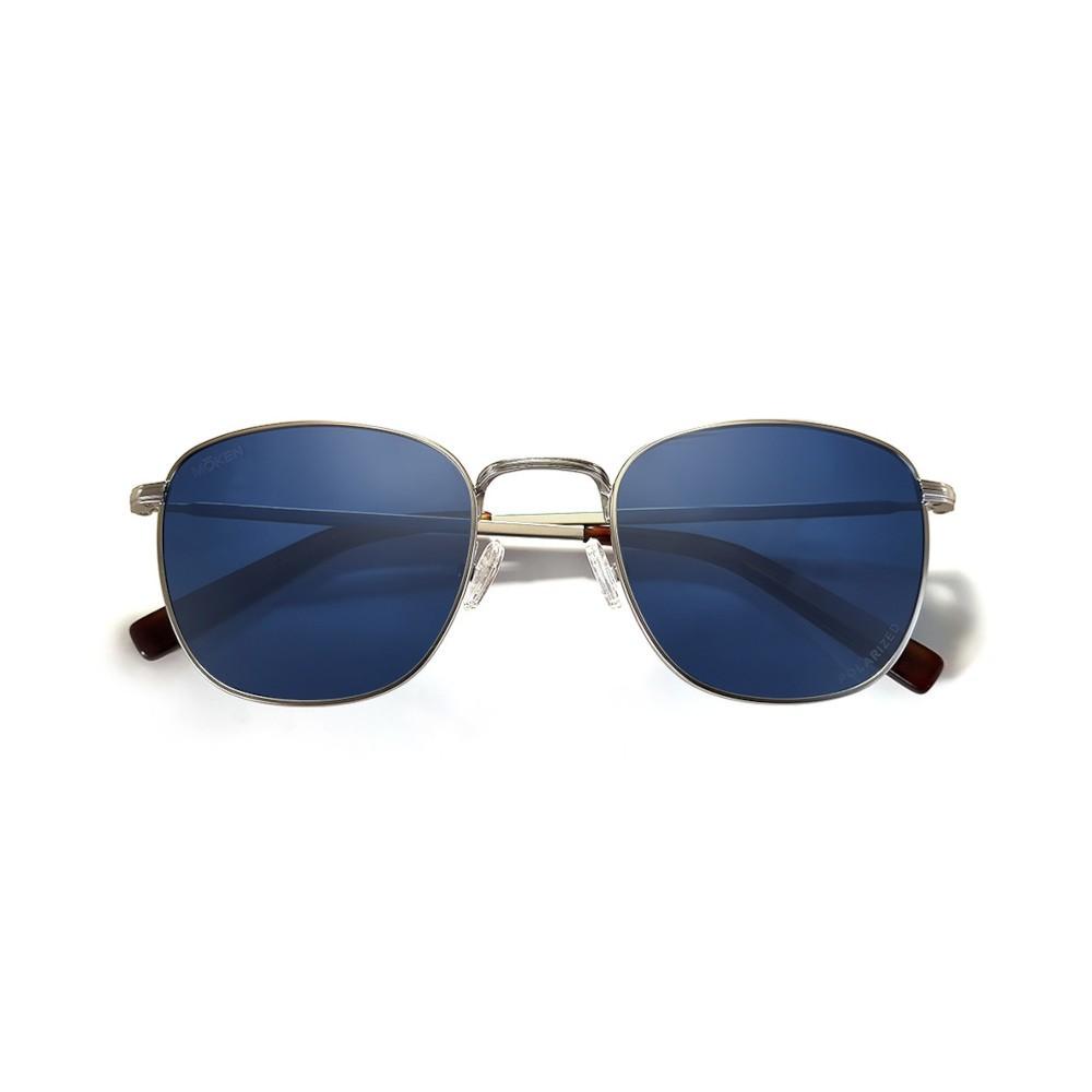 BRIDGES Silver.Tortoise/Blue